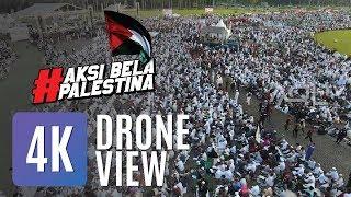 Aksi Bela Palestina | Drone View 4K