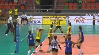 Campeonato Sudamericano de Voleibol Femenino Juvenil 2014 - Match #8: Argentina vs  Colombia