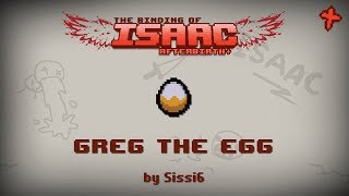 Binding of Isaac: Afterbirth+ Mod: Greg the egg