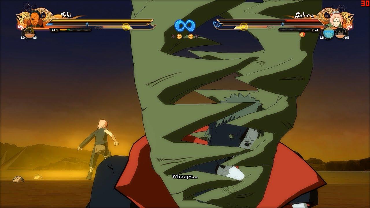 Naruto Ultimate Ninja Storm 4 PC MOD - Zetsu Character Swap Mod Gameplay