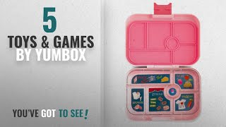 Top 10 Yumbox Toys & Games [2018]: YUMBOX Original (Gramercy Pink) Leakproof Bento Lunch Box