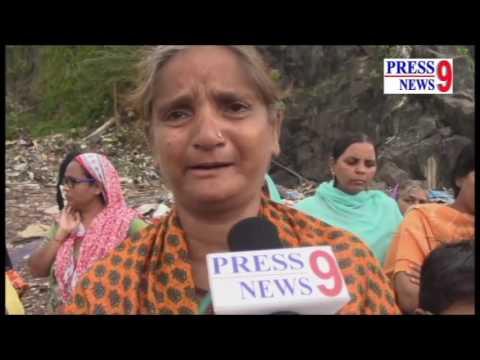 Slum Demolition in Sonia Gandhi Nagar, Azad Nagar, Ghatkopar west
