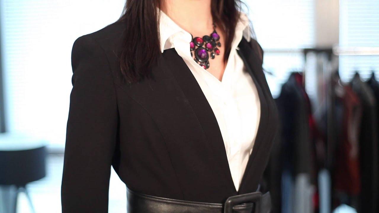 How Women Should Not Wear A Business Suit : Business