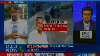 Kerala Floods: CM Pinarayi Vijayan launches special lottery to raise funds