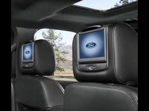 Ford Escape Titanium >> Ford Explorer Limited AT 4X4 2017, Pantallas en Cabeceros - YouTube