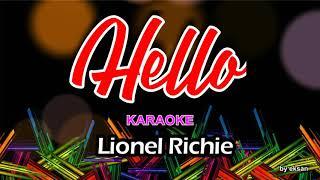 Lionel Richie - Hello Karaoke