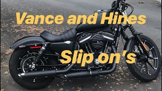 Iron 883 with Vance and Hines …