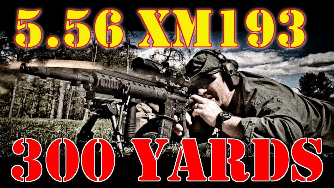 xm193 5 56 at 300 yards accuracy and drop compensation verify