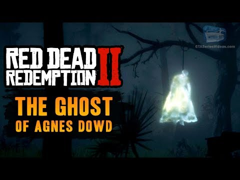 Red Dead Redemption 2 Easter Egg #5 - The Ghost Of Agnes Dowd