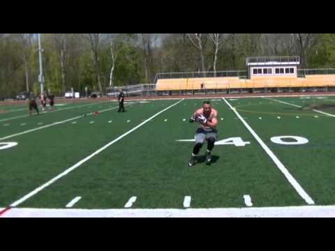 Colt Lyerla Highlights - Workout After Injury For NFL Comeback Day 14