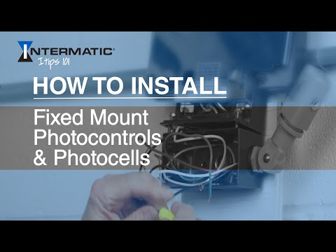 How to Install Fixed Mount Photocontrols / Photocells - YouTube K Photocell Wiring Diagram on