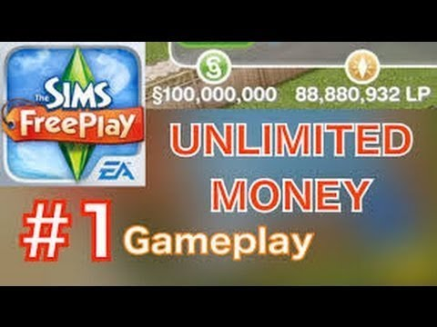 argent gratuit sur les sims freeplay