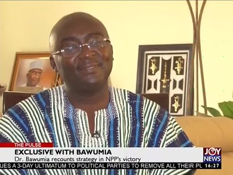 Exclusive with Bawumia - The Pulse on Joy News (30-12-16)