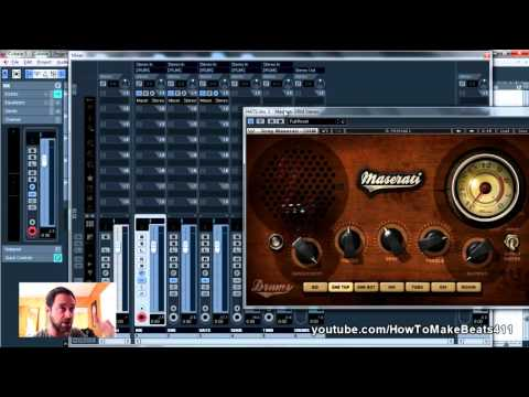 Mixing Drums with a $39 Waves Plugin (Maserati DRM)