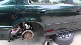 Trifecta -  BMW E39 Wheel Speed Sensor DIY