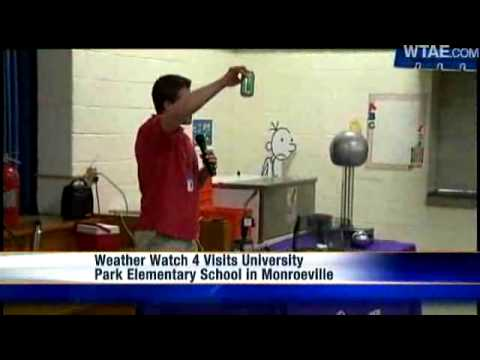 Weather Watch 4 School Visit: University Park Elementary School