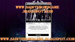 Saints Row The Third Crack Free Download - Tutorial