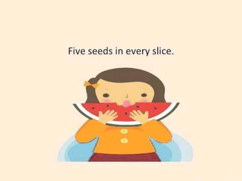 Eat A Slice of Watermelon w/Lyrics