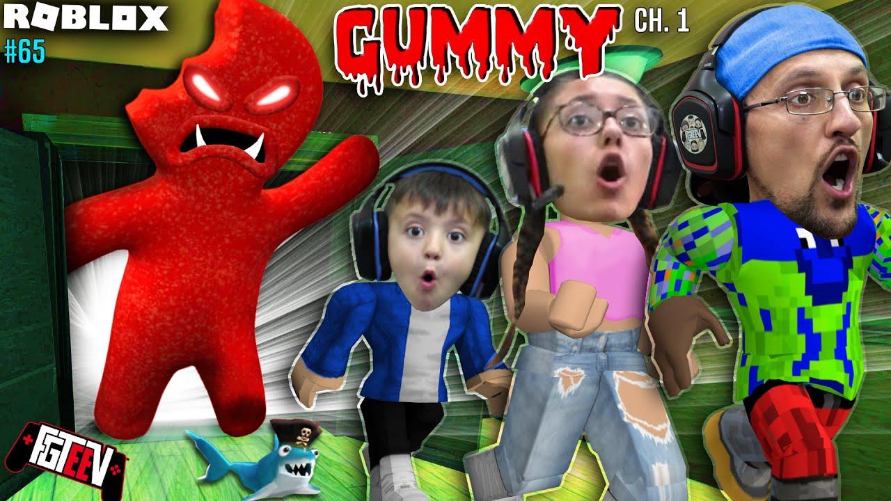Download ROBLOX GUMMY! ESCAPE the Giant Sour Patch! (FGTeeV vs. Chapter 1)