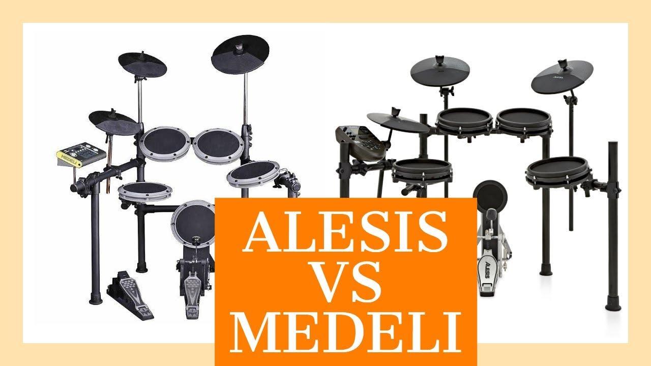 Alesis Nitro Module E Medeli Dd504d Comparativa Youtube