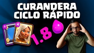 CURANDERA ESPEJO, ¡EL CICLO MÁS RÁPIDO! 1.8 ELIXIR | Malcaide Clash Royale
