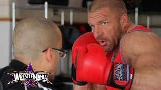 Triple H gives an exclusive look at his training camp for Daniel Bryan