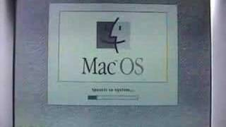 Apple PowerBook 520 (Mac OS 7.5.6 booting)