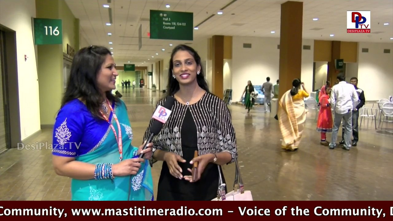 Interview with Anjana Sowmya at  TANA Conference - 2017 - St Louis