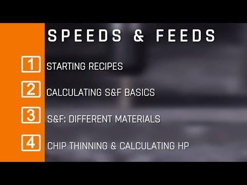 Speeds & Feeds Tutorial for CNC Machines! WW164