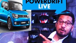 Live: Maruti Suzuki Ignis launched : Features, Price & More