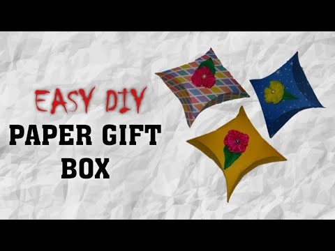 How to make paper Gift Box | DIY Paper Gift Box