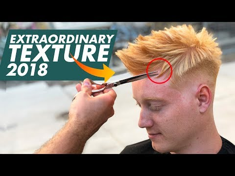 Textured Hair for Summer 2018 | Best Men's Hairstyles Inspiration