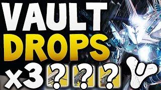 Destiny - Vault Hard Drops x3 (Week 17)