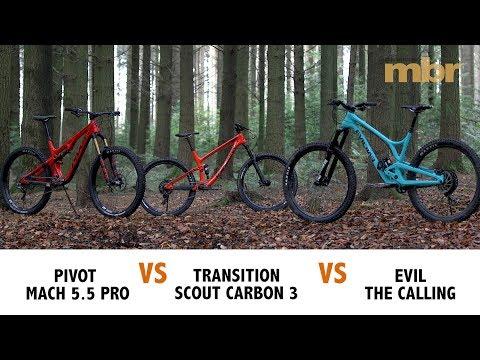 American Superbike Shootout | Pivot Mach VS Transition Scout VS Evil The Calling | MBR