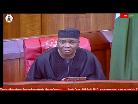 Senate Plenary,11th April, 2017