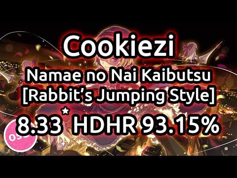 Cookiezi | EGOIST - Namae no Nai Kaibutsu [Rabbit's Jumping Style [AR10] Full] HDHR 93.15%