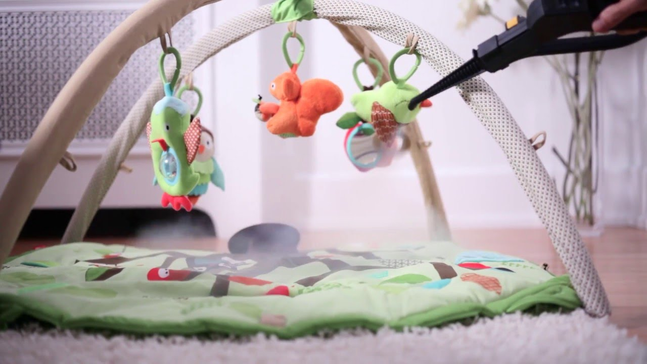 how to disinfect baby toys