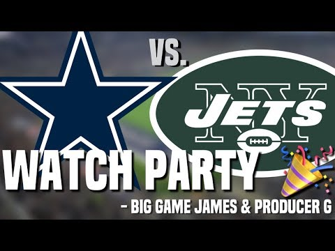 Dallas Cowboys vs. New York Jets   LIVE Play by Play   Watch Party