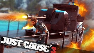 EPIC JUST CAUSE 3 SEA VS PLANE BATTLE! :: Just Cause 3 Multiplayer!