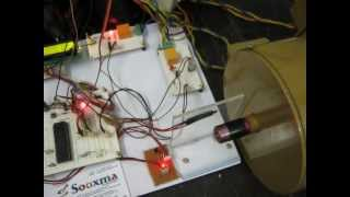 Four quadrant chopper - 1 HP DC machine speed and Direction controlling using IGBTs
