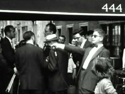 Marilyn Monroe And Arthur Miller in New York City 1957