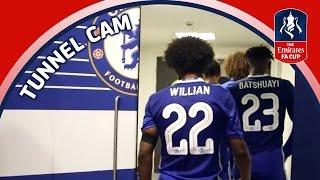 Tunnel Cam - Chelsea vs Tottenham Hotspur - Emirates FA Cup Semi-Final | Inside Access