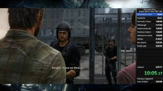 The Last of Us Any% NG+ Speedrun World Record 2:36:53