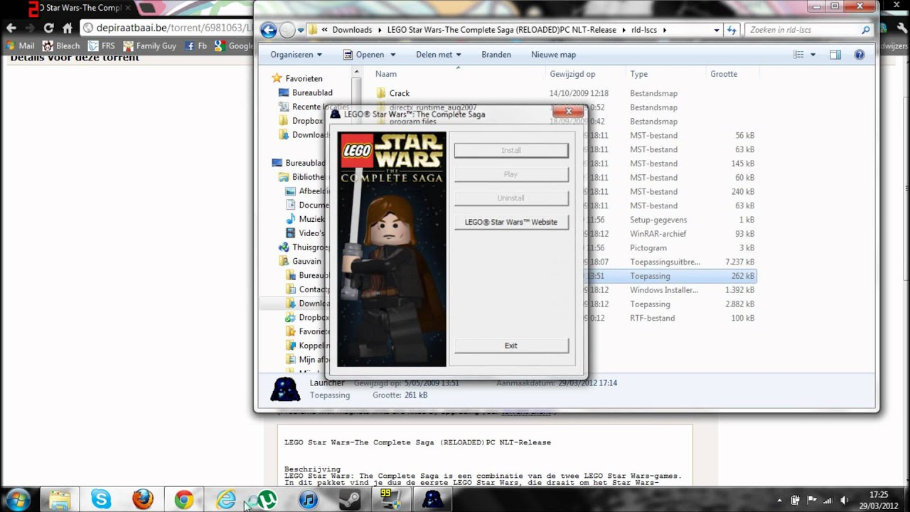 Lego Iso wii files For dolphin