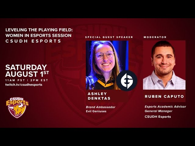 Leveling The Playing Field: Women in Esports with Ashley Denktas