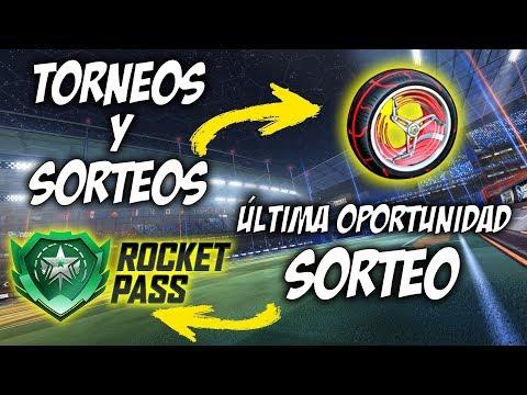 TORNEOS con SUBS, SORTEOS y ANUNCIO SORTEO ROCKET PASS | DIRECTO ROCKET LEAGUE thumbnail