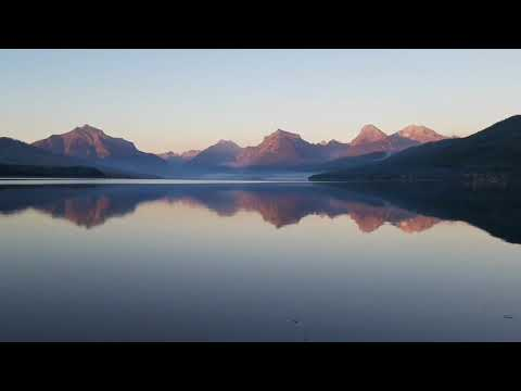 Glacier Park: Sprague Fire On Lake McDonald 09/28/17