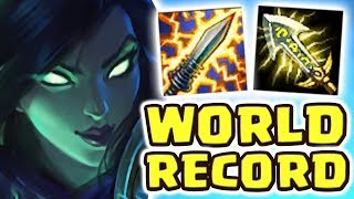 $300 SKIN !! SOULSTEALER VAYNE | NEW WORLD RECORD BROKEN?! STATIKK SHIV PROC DOUBLE KILL Nightblue3