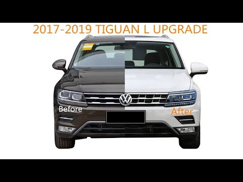Easily Upgrade TIGUAN L 2017-2019 From Xenon To LED In 20 Minutes