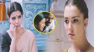 Amy Jackson And Samantha Interesting Emotional Scene | Telugu Scenes | Telugu Hungama